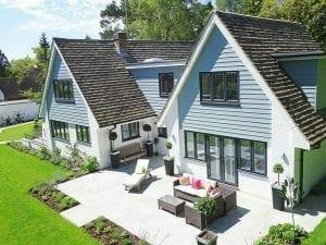 contemporary home close to London