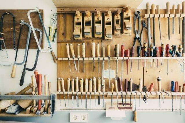 Storage ideas to easily organise your garage