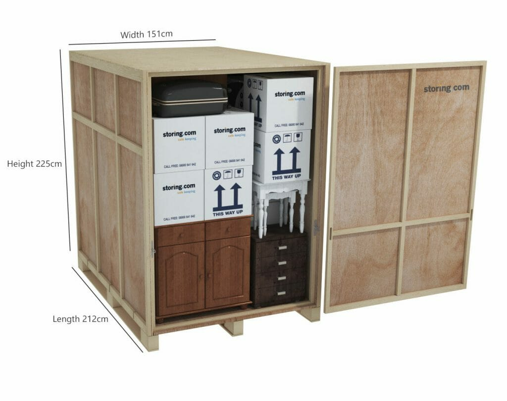 35sq ft container image