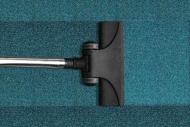 Vacuum cleaning carpet